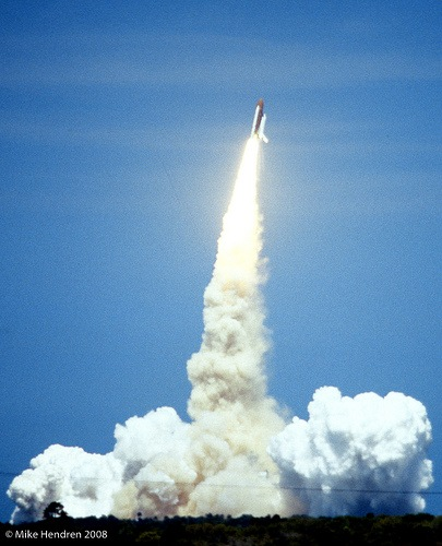 Space Shuttle Challenger Maiden Voyage