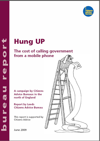 Hung UP - report cover image